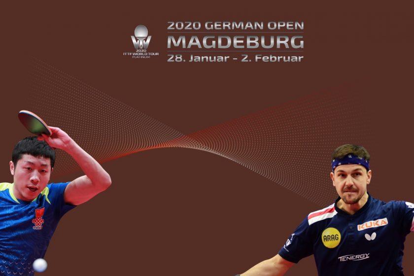 Tischtennis German Open 2020 Magdeburg